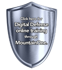Click here for Digital Defense online training through MountainOne.