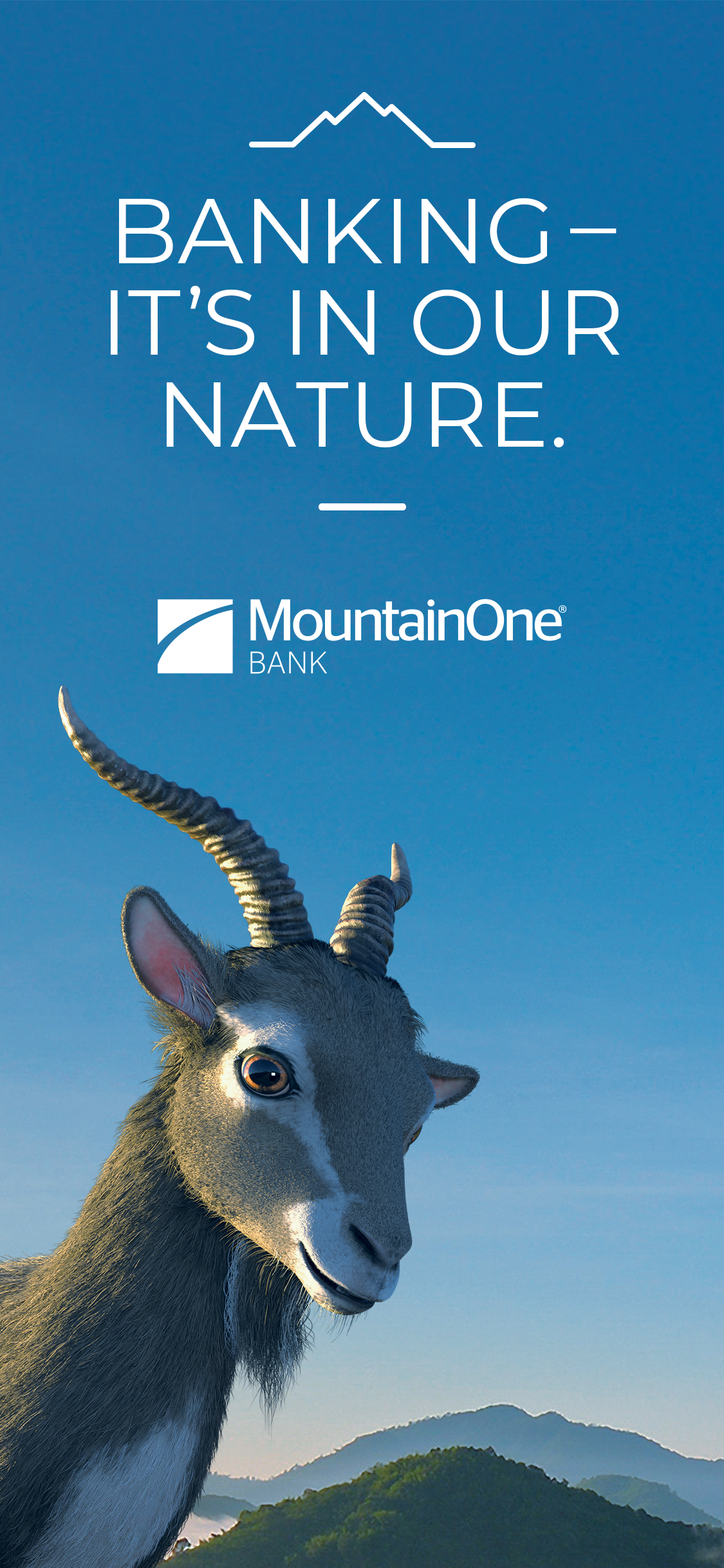 Banking - It's in our nature. MountainOne Bank.